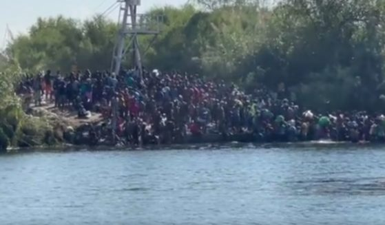 Masses of illegal migrants are flooding into the U.S. near Del Rio, Texas, adding to an ever-worsening humanitarian crisis there.