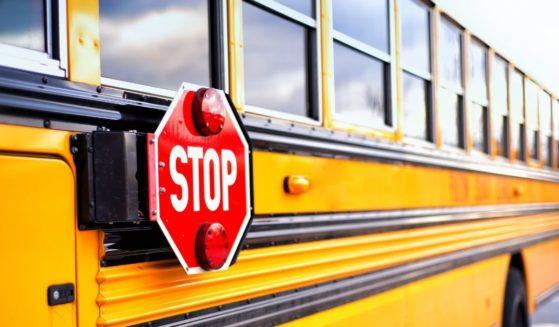 A school bus in Atlanta, Georgia, is seen in this stock photo.