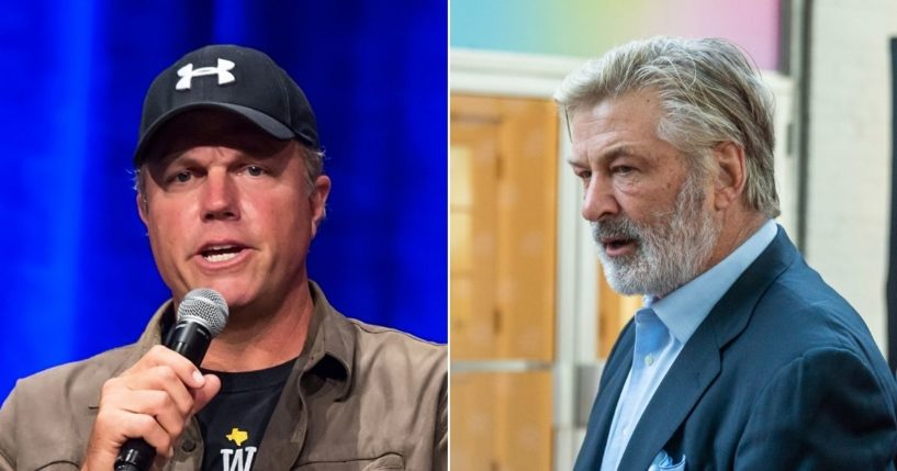 Actor Adam Baldwin, left, criticized fellow actor Alec Baldwin (no relation), after the latter fatally shot a woman on the set of the movie he's filming.
