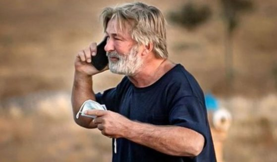 Actor Alec Baldwin is seen outside the Santa Fe County Sheriff's Office in New Mexico after being questioned about the shooting Thursday.