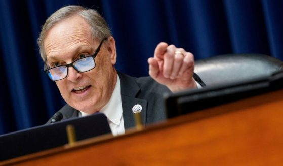 Rep. Andy Biggs of Arizona speaks during a House Oversight and Reform Committee hearing on Capitol Hill in Washington, D.C., on Thursday.