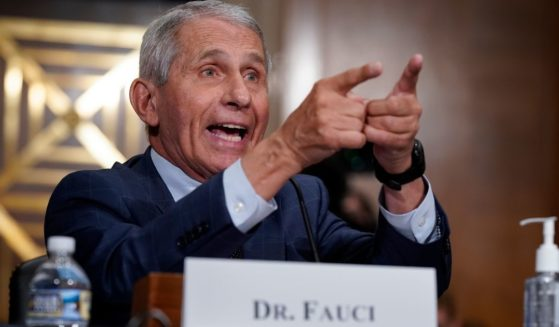 Top infectious disease expert Dr. Anthony Fauci testifies before the Senate Health, Education, Labor and Pensions Committee about the origin of COVID-19 on July 20, 2021, on Capitol Hill in Washington, D.C.
