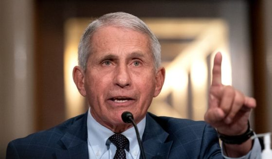 Dr. Anthony Fauci, director of the National Institute of Allergy and Infectious Diseases, testifies at a Senate Health, Education, Labor and Pensions Committee hearing on July 20, 2021, in Washington, D.C.