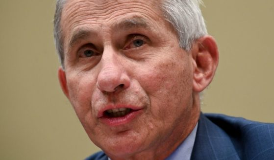 Anthony Fauci, director of the National Institute of Allergy and Infectious Diseases, testifies during a House hearing in Washington on July 31, 2020.