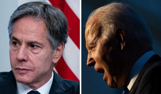 Secretary of State Antony Blinken, seen at left, admonished foreign leaders against court-packing as a threat to democracy while his own country, under the leadership of Joe Biden, has been considering that very thing.