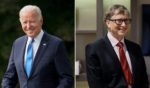 President Joe Biden is pictured next to Microsoft co-founder and billionaire Bill Gates. Under a new proposal being reviewed by Congress, the IRS may have the ability to view the banking information of American citizens if their accounts bring in over $600 annually. Critics are concerned this policy would impact everyday Americans more than it would the rich demographic it is reportedly aimed toward.