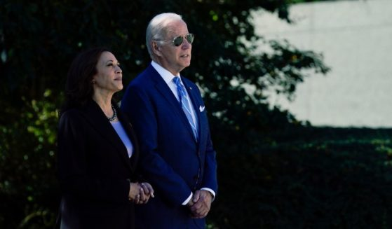 President Joe Biden and Vice President Kamala Harris look at the Martin Luther King, Jr. Memorial during one of their rare recent public appearances together on Oct. 21, 2021. The two were together in public regularly during the early days of the Biden-Harris administration, but news reports indicate the two have been more than a little socially distant in recent months.