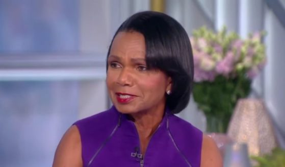 """Former Secretary of State Condoleezza Rice speaks on """"The View"""" on Wednesday."""