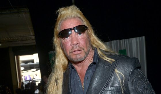 TV personality Dog the Bounty Hunter attends the 48th Annual Academy of Country Music Awards at the MGM Grand Garden Arena on April 7, 2013, in Las Vegas.