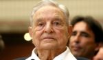 Billionaire George Soros, founder and chairman of Open Society Foundations, is seen before the Joseph A. Schumpeter award ceremony in Vienna on June 21, 2019.