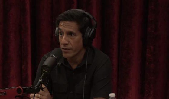 Dr. Sanjay Gupta speaks to Joe Rogan on the 'Joe Rogan Experience.'