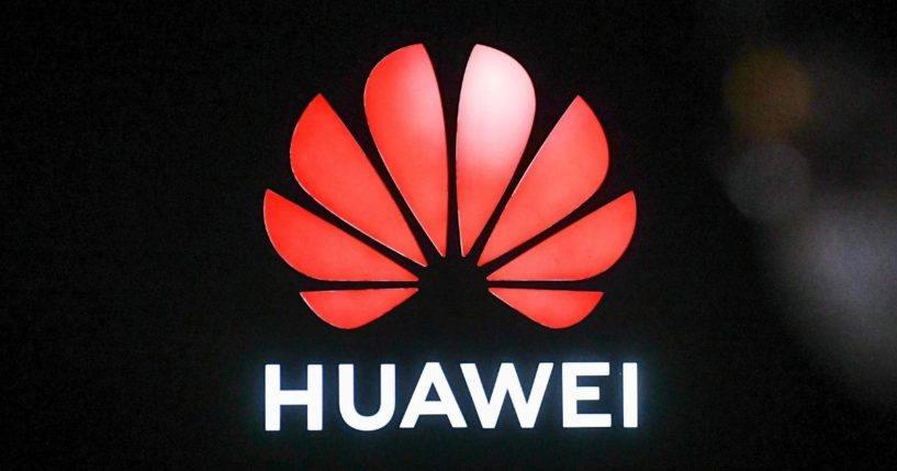 A Huawei logo is seen during the Huawei Connect Conference in Shanghai on Sept. 23, 2020.