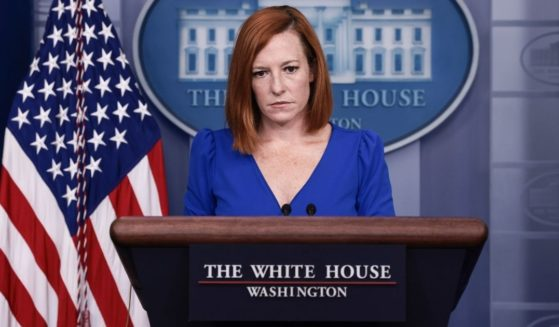 White House press secretary Jen Psaki speaks at a media briefing in the James Brady Press Briefing Room of the White House on Oct. 1 in Washington, D.C.
