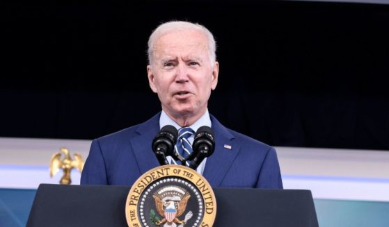 President Joe Biden delivers remarks in the South Court Auditorium in the White House on Sept. 27, 2021 in Washington, D.C.