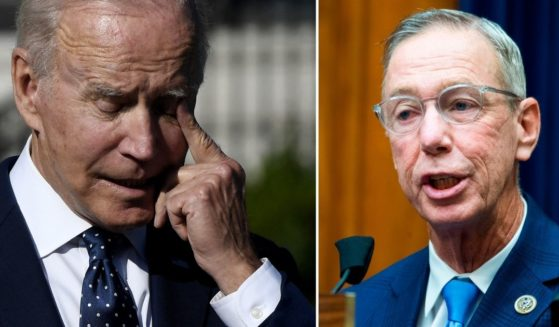 President Joe Biden, left, is seen at the White House in Washington, D.C., on Monday. Democratic Rep. Stephen Lynch of Massachusetts speaks during a House Oversight and Reform Committee hearing on Capitol Hill in Washington, D.C., on Aug. 24, 2020.