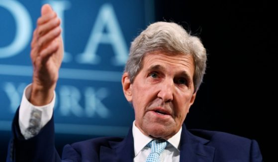 Special Presidential Envoy for Climate John Kerry speaks during the 2021 Concordia Annual Summit on Sept. 20, 2021, in New York City.