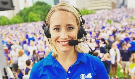 Newcaster Kim St. Onge says she was fired from KMOV-TV in St. Louis after she said she wouldn't submit to workplace restrictions placed on her for being unvaccinated.