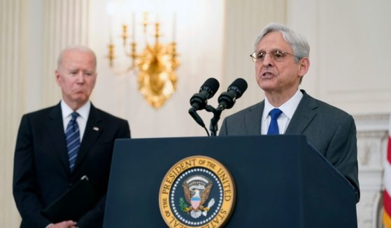 President Joe Biden, left, and U.S Attorney General Merrick Garland, seen in a file photo from June 2021, are doing everything they can to thwart the Texas Heartbeat Act. The issue may soon come before the U.S. Supreme Court.