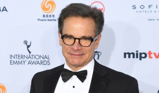 Actor Peter Scolari attends the 44th International Emmy Awards on Nov. 21, 2016, in New York City.