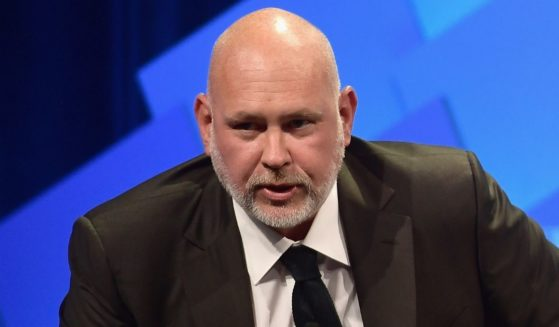 Steve Schmidt speaks onstage during the Vanity Fair New Establishment Summit at the Wallis Annenberg Center for the Performing Arts in Beverly Hills, California, on Oct. 9, 2018.