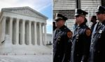 Two rulings issued by the Supreme Court on Monday took the side of police officers in cases involving qualified immunity.