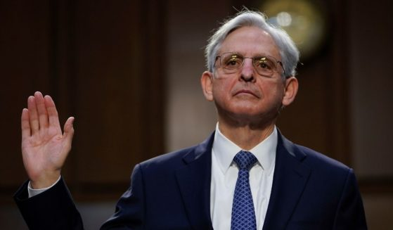 Then-Attorney General nominee Merrick Garland is sworn-in during his confirmation hearing before the Senate Judiciary Committee in the Hart Senate Office Building on Feb. 22, in Washington, D.C.