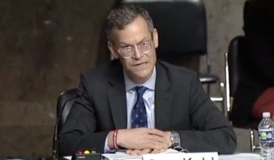 Under Secretary of Defense for Policy Colin Kahl testifies regarding Afghanistan security before Senate Armed Services Committee on Oct. 26 in Washington, D.C.