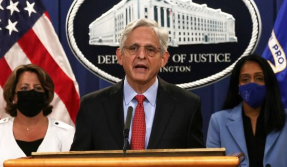 U.S. Attorney General Merrick Garland announces a lawsuit against the state of Texas over its pro-life law on Sept. 9.