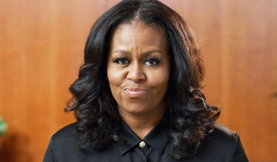 Former first lady Michelle Obama, pictured during the 2021 Billboard Music Awards in May.