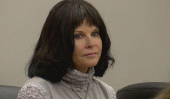 Carla Faith from a court appearance.