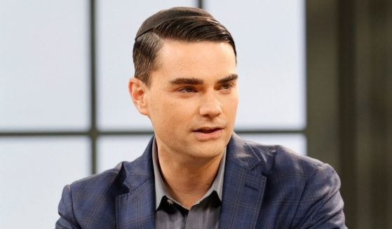 """Ben Shapiro participates in a taping of """"Candace"""" in Nashville, Tennessee, on March 17."""