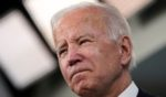 President Joe Biden speaks in the South Court Auditorium on the White House campus in Washington, D.C., on Thursday.