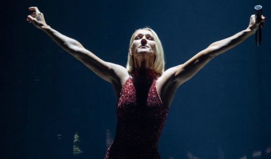 Singer Celine Dion performs during her first World Tour called Courage in Quebec City, Montreal, Canada on Sept. 18, 2019.