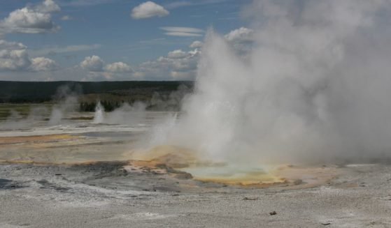 Yellowstone National Park spring