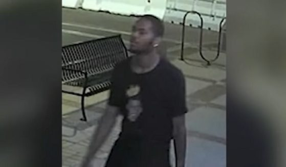 Surveillance video shows the suspect in a Sept. 24 sexual assault on the campus of Chapman University in Orange County, California.