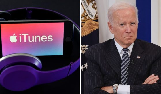 Criticism of President Joe Biden has become so pervasive that iTunes has not one, not two, but four chart-topping hip-hop songs based on the vulgar viral chant that has been sanitized to 'Let's Go, Brandon.'