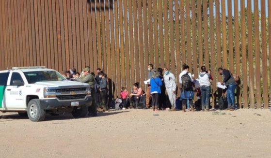 Illegal migrants from at least eight different nations crossed the southern border at Yuma, Arizona, on Friday as the migration crisis continues to escalate in the area.